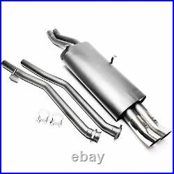Sport Exhaust For BMW E30 320i 325i Saloon 2x76DTM + ABE