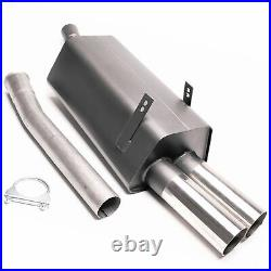 Sport Exhaust For BMW E36 320i 323i Coupe 0 3/32x2.99in Sharp + ABE