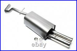 Sport Exhaust/Muffler 0 3/32x2.99in for Audi A3 8L + ABE