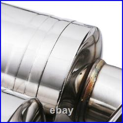 Stainless Cat Back Sport Exhaust System For Bmw 4 Series F82 M4 3.0 Turbo 14-18