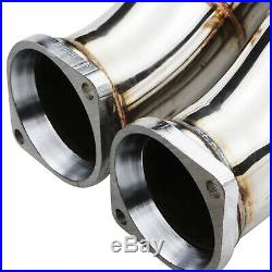 Stainless Exhaust 2nd De Cat Bypass Downpipes For Bmw 3 4 Series F80 F82 M3 M4