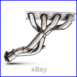 Stainless Exhaust De Cat Bypass Decat Manifold For Bmw 3 Series E46 316 318 16v