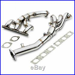Stainless Exhaust De Cat Bypass Decat Manifolds For Bmw 3 Series E46 325 328