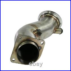 Stainless Exhaust De Cat Decat Downpipe For BMW 4 3 Series F80 M3 F82 M4