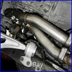 Stainless Exhaust Manifold De Cat Decat Pair For Bmw 3 Series E46 323 325 328