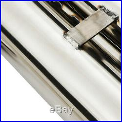 Stainless Exhaust System Rear Silencer Back Box For Bmw 3 Series E46 M3 3.2 00