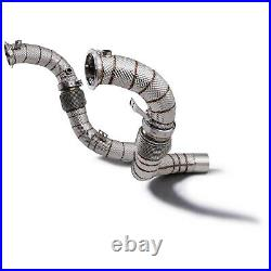 Stainless Heat Shield Exhaust De Cat Decat Downpipe For Bmw 5 Series F90 M5 17
