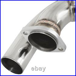 Stainless Race Exhaust Centre MID Section Pipe For Bmw 3 Series E46 M3 3.2 00-06