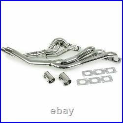 Stainless Steel Exhaust Header for BMW 3 series E36 5 series E34 E39 6 cylinder