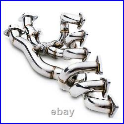 Stainless Steel Tubular Exhaust Manifolds For Bmw 3 Series E46 M3 3.2 2000-2006