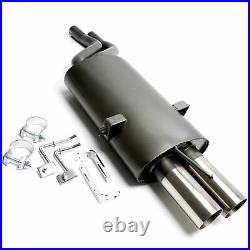Ta Exhaust + ABE! For BMW E46 6-Zylinder' 01-05 2 Eingangsrohre 0 3/32x2.99in