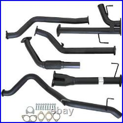VIPER DUAL 2.5 TO SINGLE 3 EXHAUST For TOYOTA LANDCRUISER 200 SERIES V8 4.5TD
